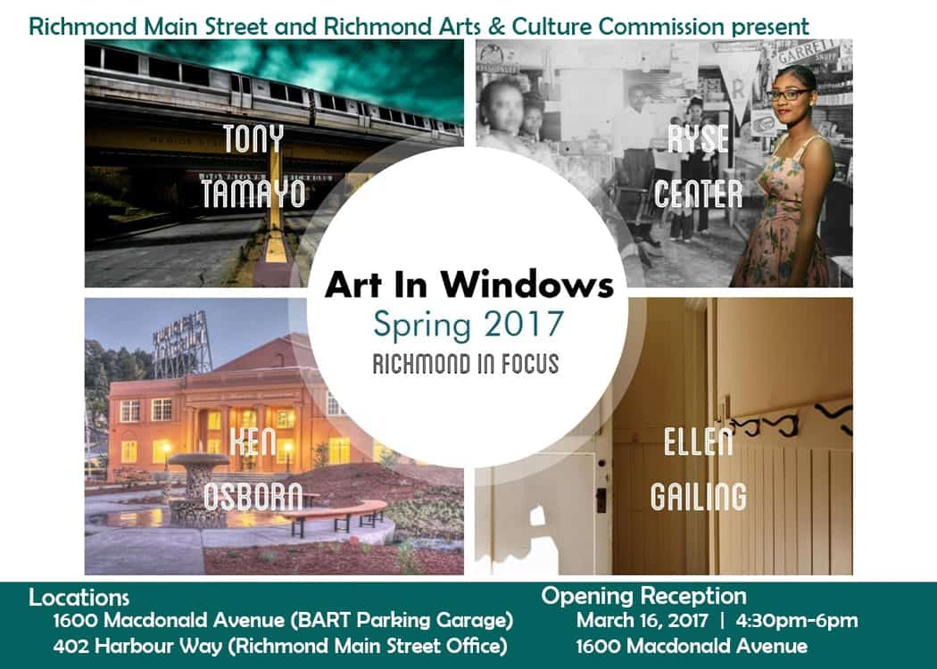 New Exhibition Continues Initiative toBuild Community, Support the Arts, Engage Spacein Downtown Richmond