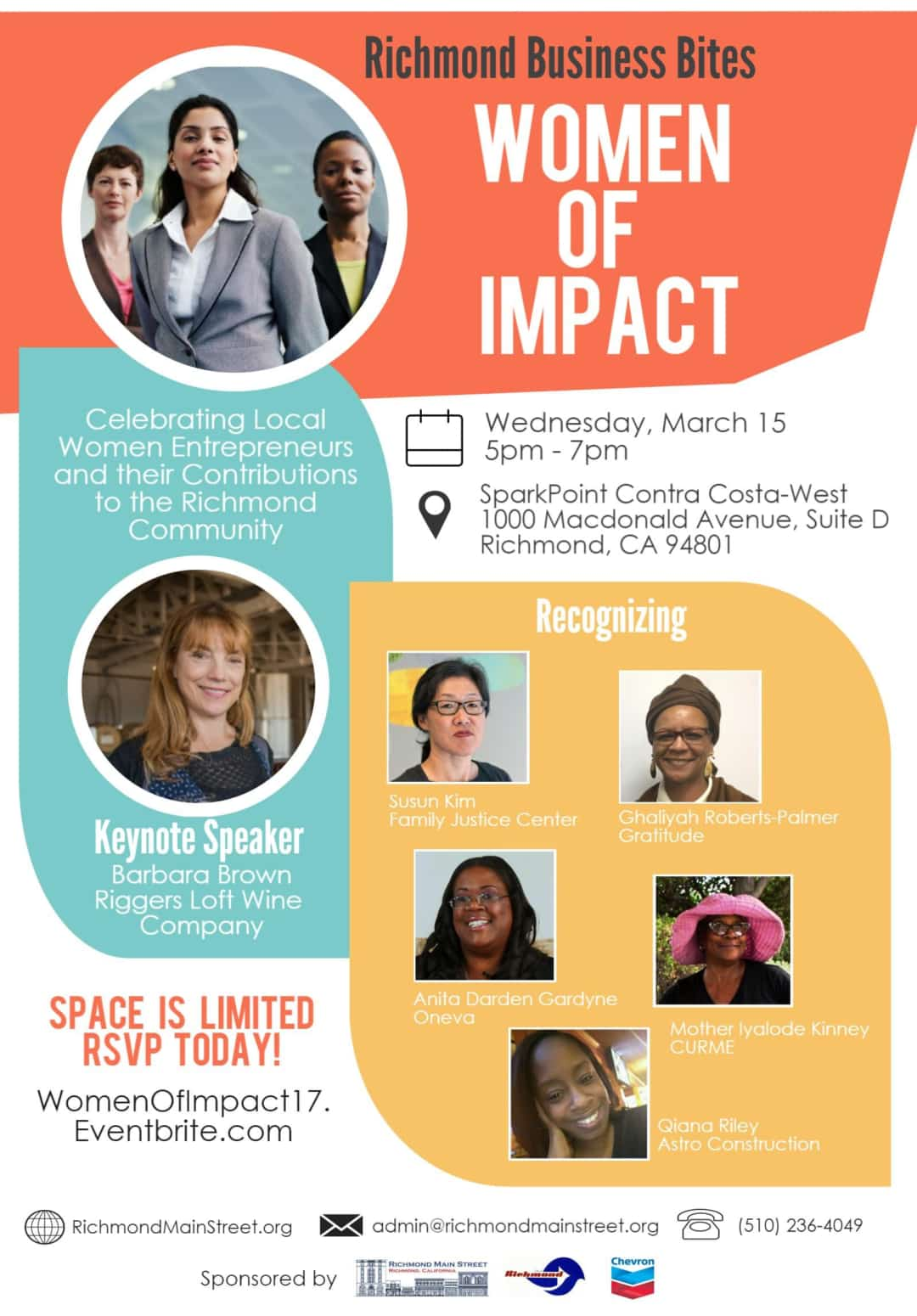 Sold Out Event to Celebrate Local Women of Impact