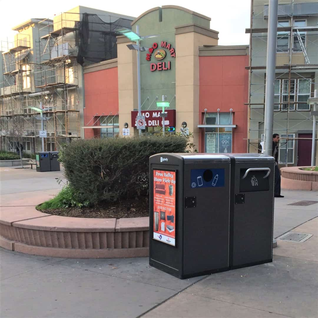 Bigbelly Trash Cans Installed Downtown