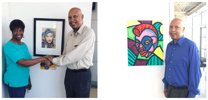 Connecting Artists and Patrons Through Art In Windows & Counting Down to Celebrate Downtown 2019