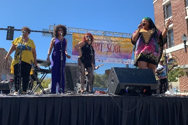 Buttah performing on Main Stage at Spirit & Soul Festival 2019